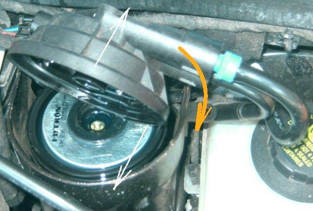 Замена топливного фильтра Астра Н 1.7 дизель