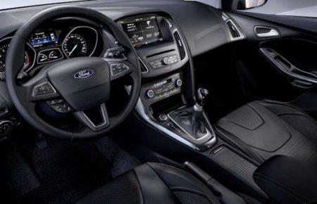Интерьер в корпоративном стиле Форд.