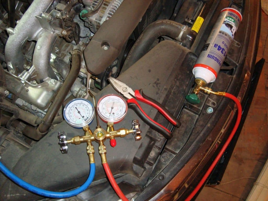 Ремонт компрессора кондиционера Форд Фокус 2