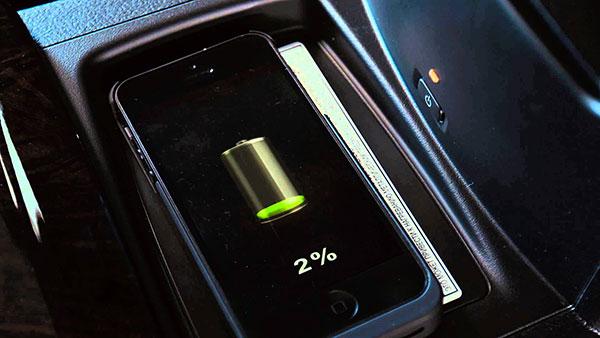 Беспроводное зарядное Камри 55