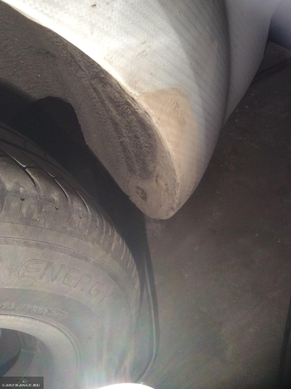 Брызговики на Форд Фокус 2 без болтов креплений