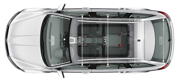 Габариты новой Skoda Octavia Combi 2013
