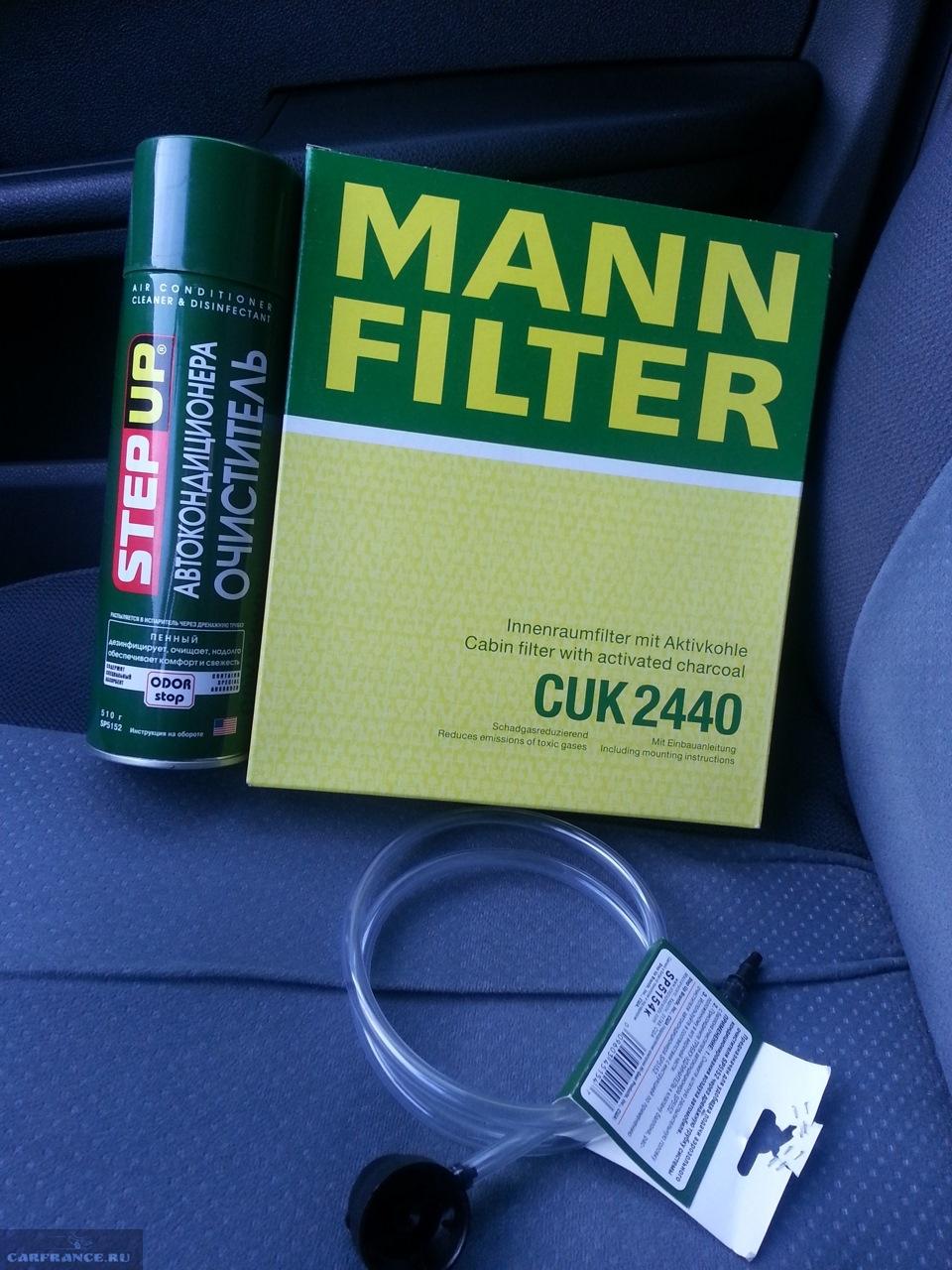 Салонный фильтр MANN на Форд Фокус 2