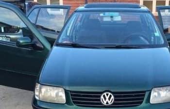 Открыть дверь VW