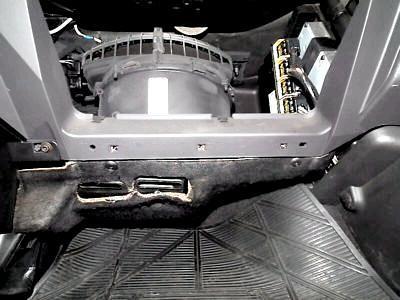 Как снять моторчик печки форд фокус 3
