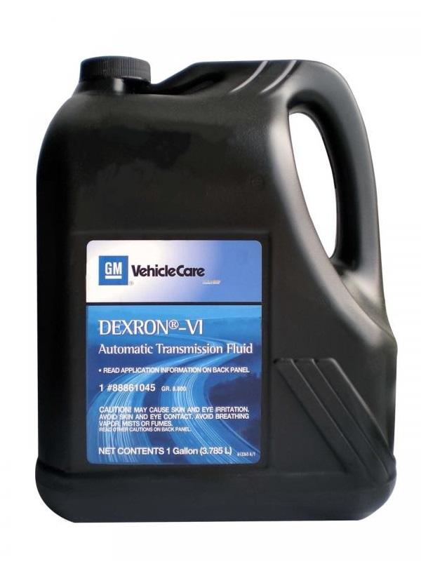 Оригинальное масло GM DEXRON VI