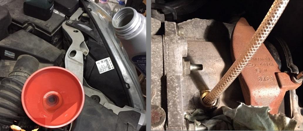 Замена масла в МКПП автомобиля Форд Фокус 2