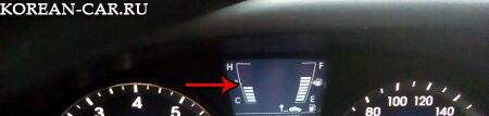 Прогрев двигателя до рабочей температуры на Хендай Солярис