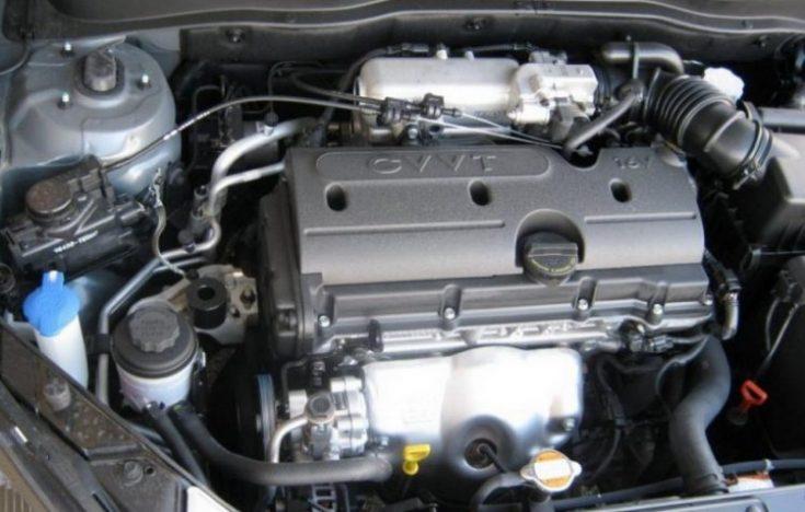 Двигатель 1.6L Kia Rio