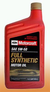 Motоrcraft full synthetic 5W-30