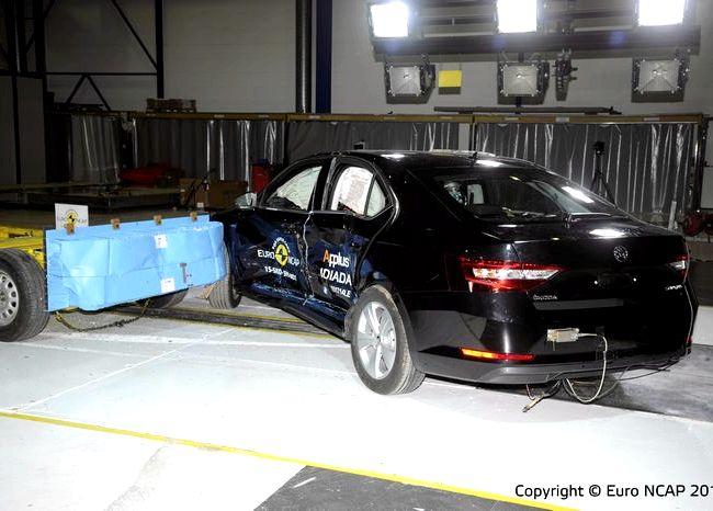 Skoda Octavia краш тест Euro NCAP          Модель Skoda