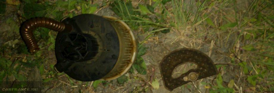 Забитый топливный фильтр на Форд Фокус 2