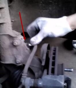 Болт крепления тормозной трубки Хендай Солярис