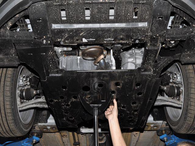 Защита двигателя Шевроле Круз