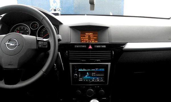 Замена Штатной Магнитолы Opel Astra H