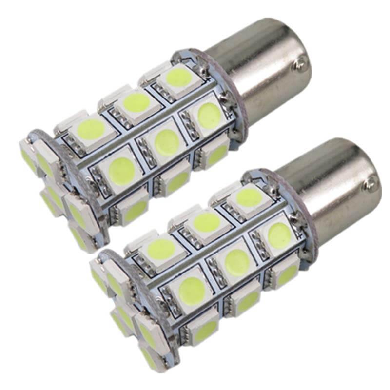 Светодиодные лампочки в ДХО