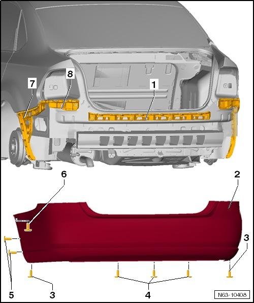 как снять бампер на volkswagen polo sedan2012