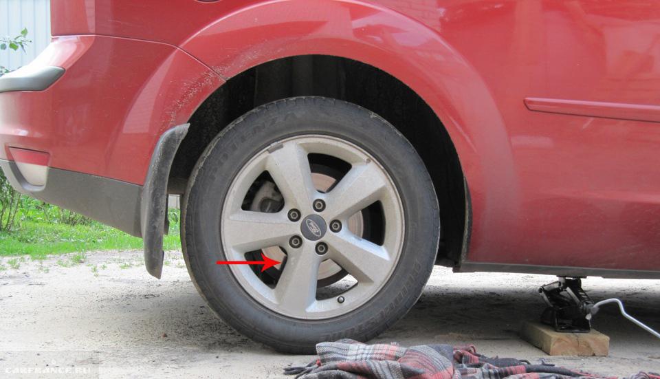 Форд Фокус 2 с задними дисковыми тормозами