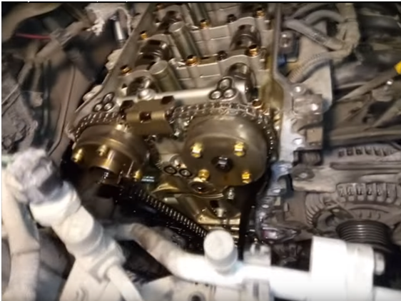 Замена цепи ГРМ на Тойота Королла 2