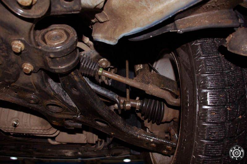 схема подвески форд фокус 2