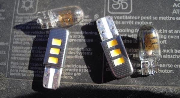 замена лампы габарита рено сандеро
