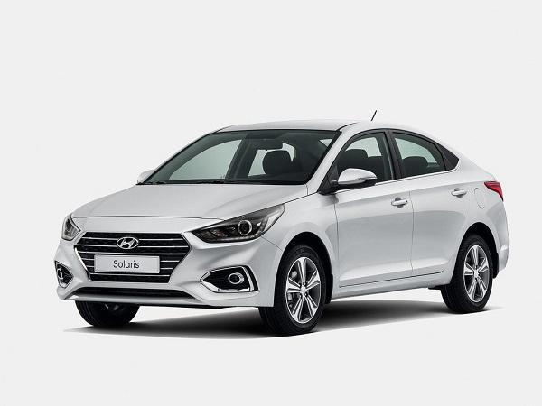 Hyundai Solaris 2017 года
