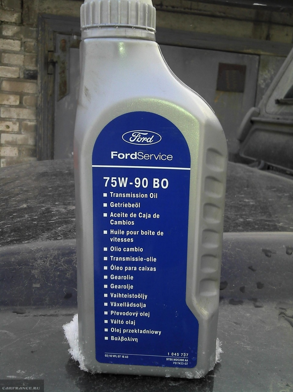 Фирменное масло для коробки передач Форд Фокус 2