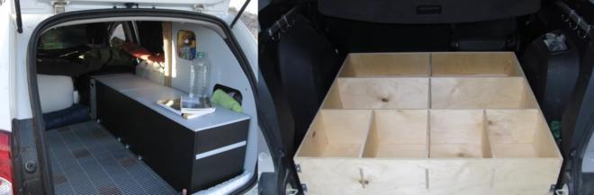Примеры доработки багажника дастера