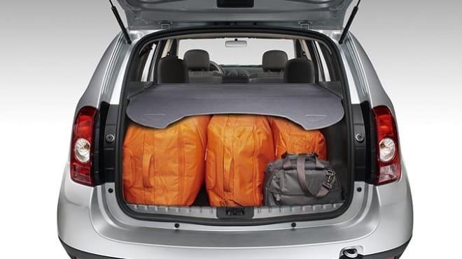 Загруженный багажник