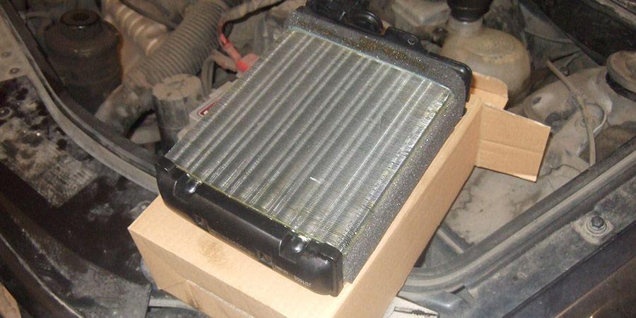 radiator pechki logan 4