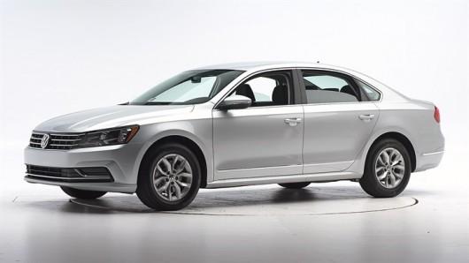 Краш-тест 2016 Volkswagen Passat