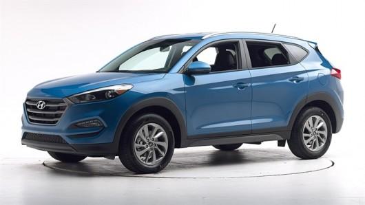 Краш-тесты 2016 Hyundai Tucson