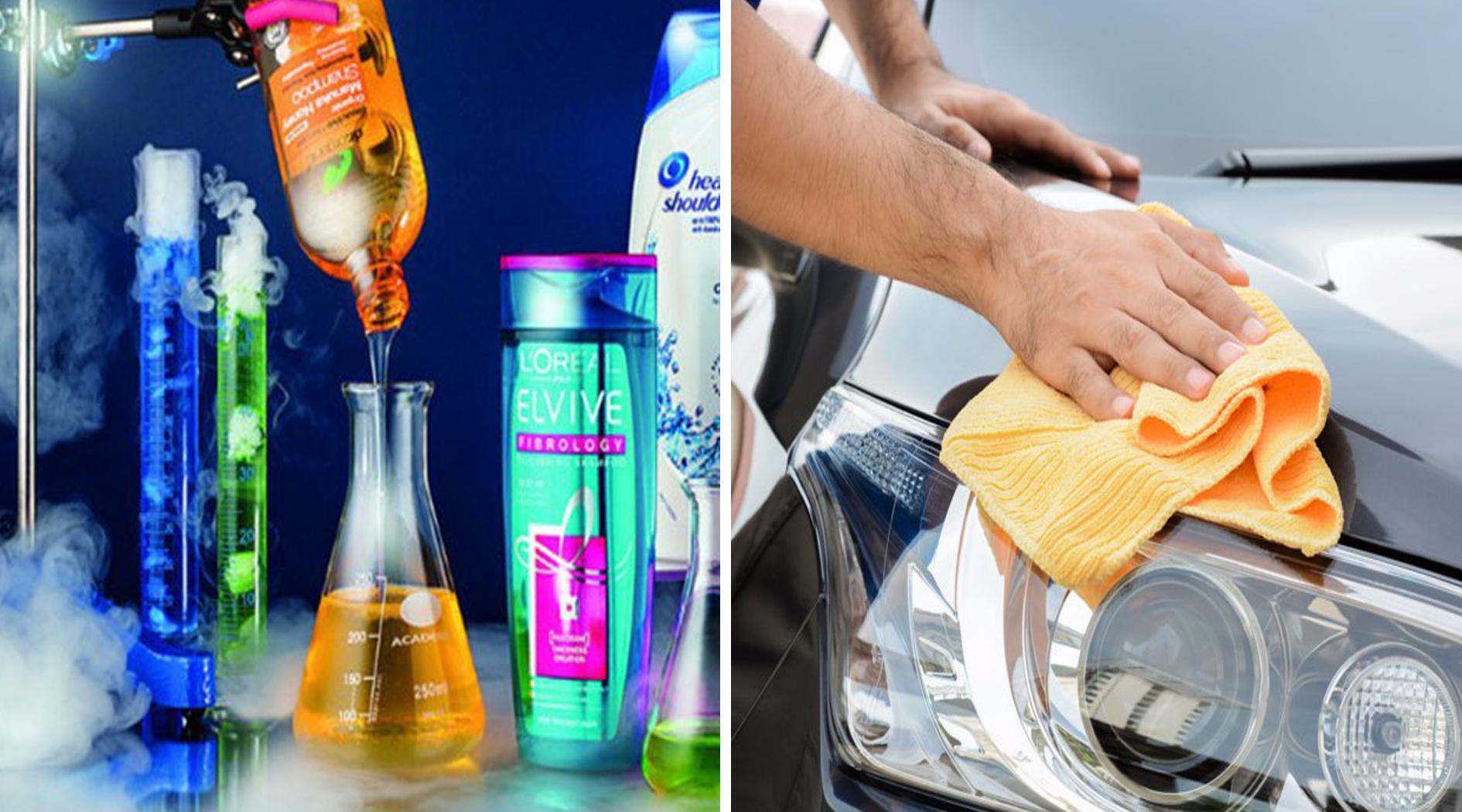 Вы можете отполировать ваш автомобиль этим известным средством для волос