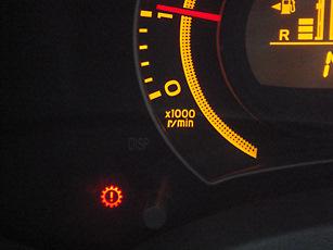 Ошибки на приборной панели Toyota Corolla