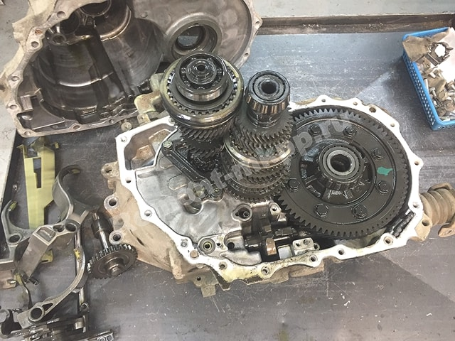 Ремонт и диагностика мкпп Ниссан Альмера Н16 / Nissan Almera N16