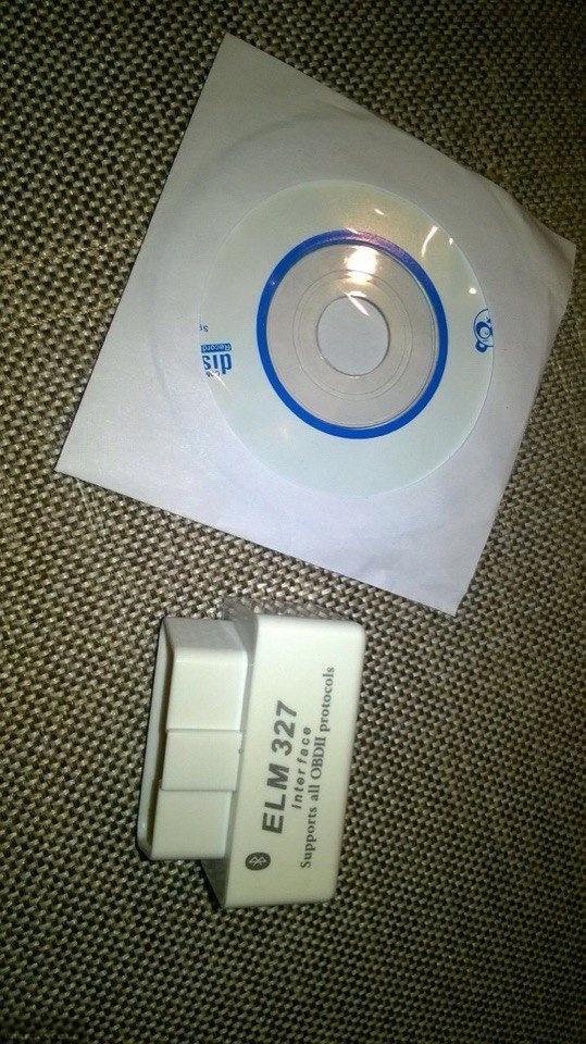 Простейший диагностический сканер ELM327
